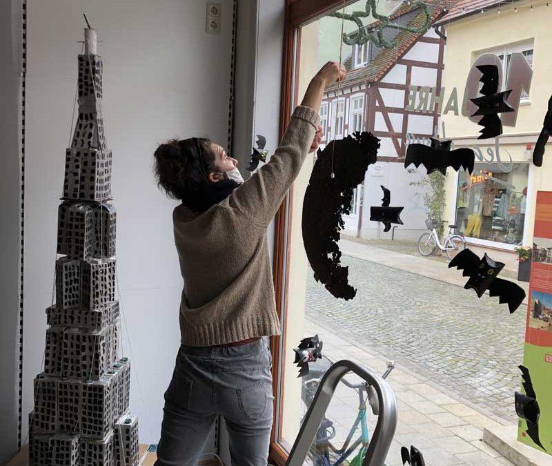 City Initiative unterstützt Vorschlag zur Gestaltung der Schaufenster in der Bäckerstraße